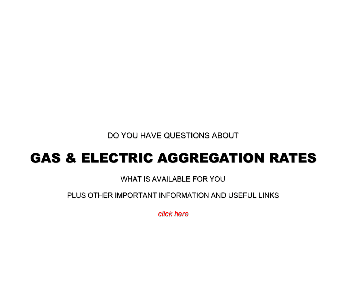Gas & Electric Aggregation