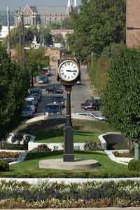 University of Akron Street Clock