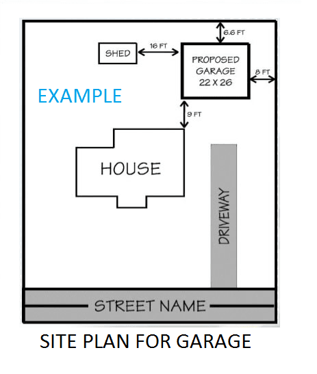 SAMPLE PLOT PLAN SIMPLE